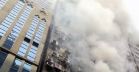 Two killed, 34 injured in Banani fire