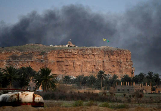 IS 'caliphate' totally eliminated: Syria force