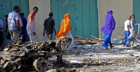 Four dead in Somali capital car bombing: police