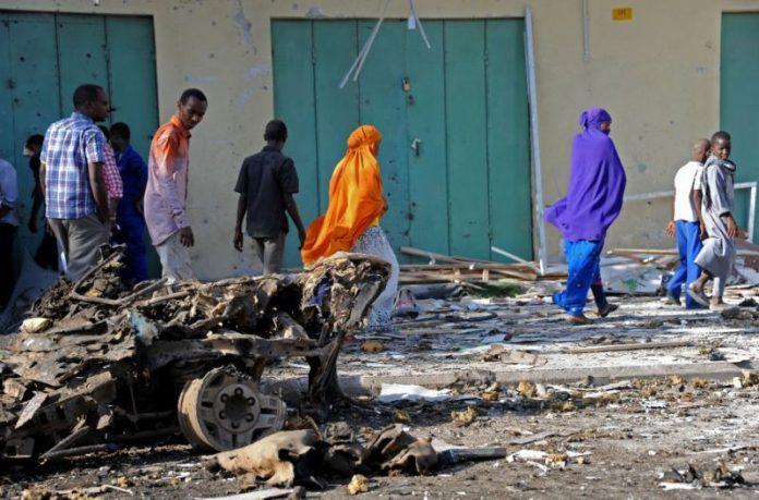 Four dead in Somali capital car bombing: police