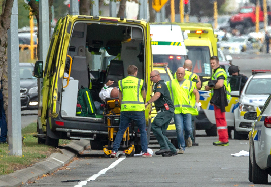 49 dead in New Zealand mosque shootings