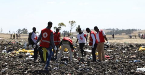 Search for bodies, clues after Ethiopian Airlines Boeing crash