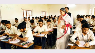 HSC, equivalent exams begin peacefully