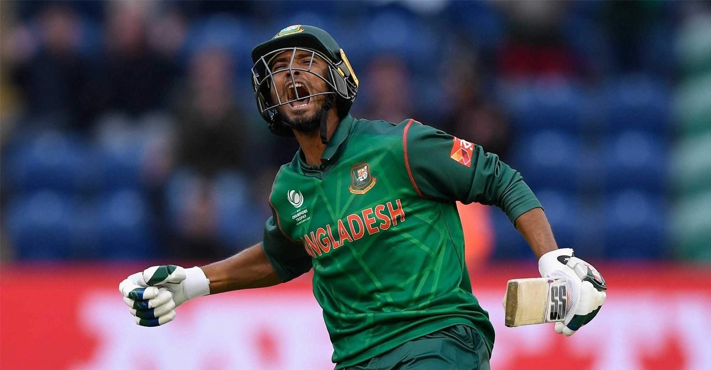 Mahmdullah shows no sign of shoulder injury in net practice