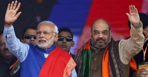Modi promises temple, farmer sops days before India poll