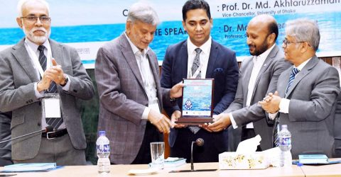 Int'l Conference on Blue  Economy held at DU