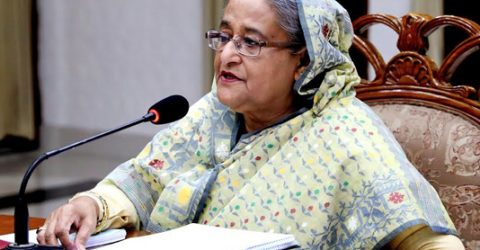 Bangladesh wants to solve Rohingya crisis thru' discussion, PM reaffirms