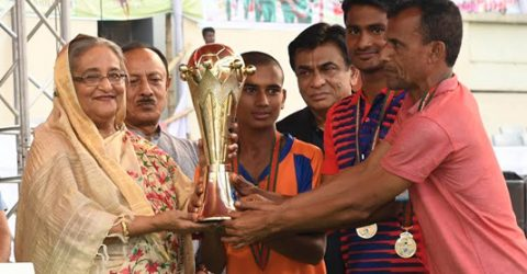 Haripur, Pachrukhi win Bangabandhu, Bangamata Gold Cup title