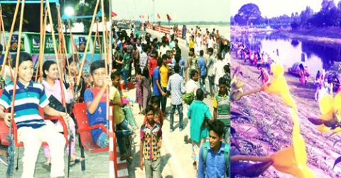 Rangpur division turns joyous welcoming 'Pahela Boishakh'