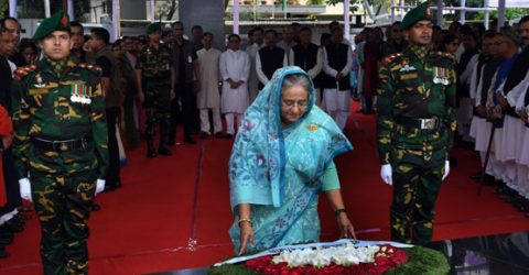 PM pays homage to Bangabandhu on Mujibnagar Day