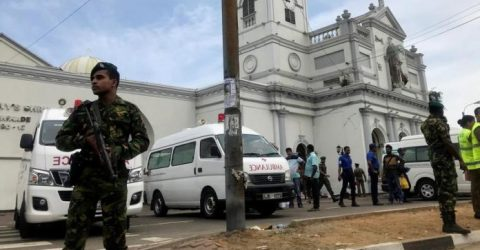 Islamic State group claims Sri Lanka attacks: propaganda arm