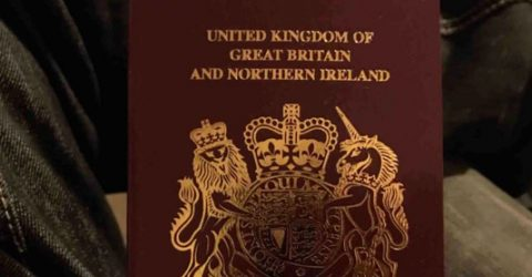 UK starts issuing passports without 'European Union' on cover
