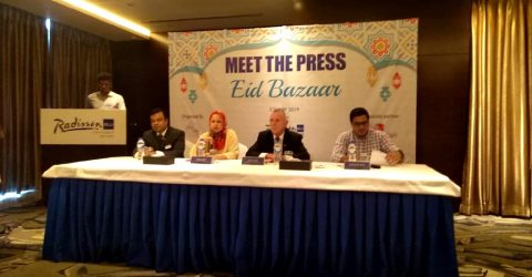 "Eid Bazaar ""Meet The Press"" at Radisson Blu Chattogram Bay View"