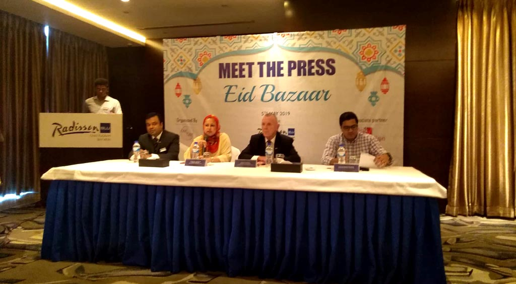 "Eid Bazaar ""Meet The Press"" at Radisson Blu Chattogram Bay View"