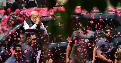 India's epic election ends as Modi meditates
