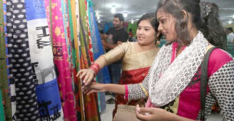Boutique house business becomes vibrant ahead of Eid in Rajshahi