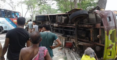 Six killed in Bagerhat road accident
