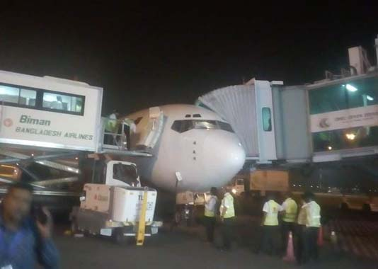 Biman's injured passengers, crews arrive