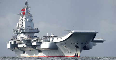 China building third aircraft carrier: think tank