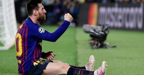 Klopp hails 'unstoppable' Messi after Barca star shines in CL semi