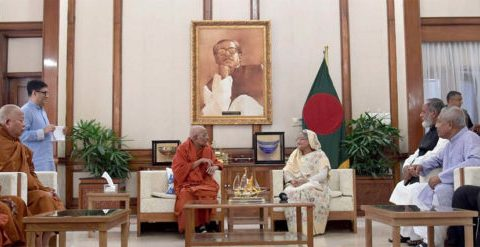 Bangladesh sets example of religious harmony: PM