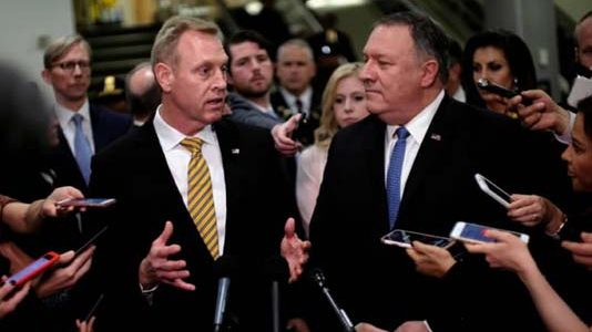 US stance on Iran 'deterrence, not about war': Pentagon chief