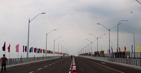 PM opens 2nd Meghna, Gumti bridges