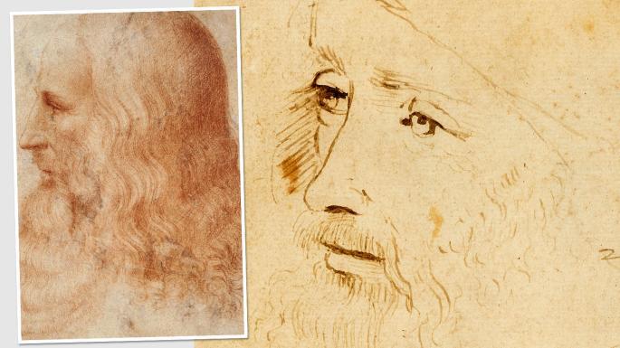 Newly identified Leonardo portrait on show in London