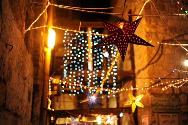 In Jerusalem's Old City, lantern maker lights up Ramadan