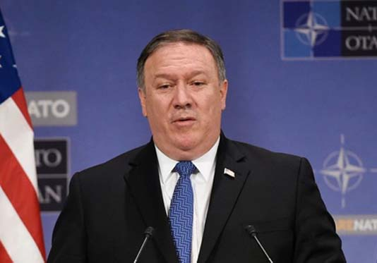 Pompeo visits Brussels as Europe meets on Iran