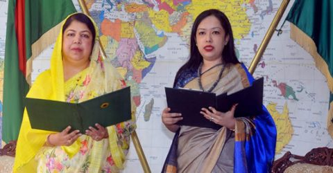 BNP leader Rumeen Farhana takes oath as MP