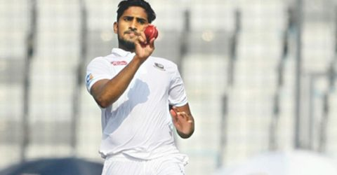 Bangladesh Test pacer Khaled to undergo surgery for knee injury
