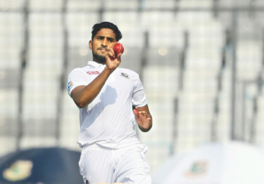 Bangladesh Test pacer Khaled to undergo surgery for knee injury