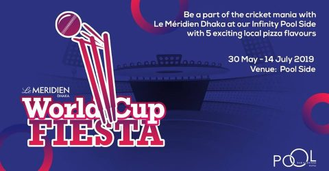Le Méridien Dhaka's World Cup raffle draw