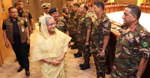 PM asks army to stand by people always