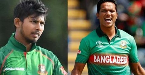 Saifuddin, Mosaddek ruled out due to injury
