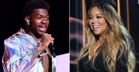 Mariah Carey passes the torch to Lil Nas X