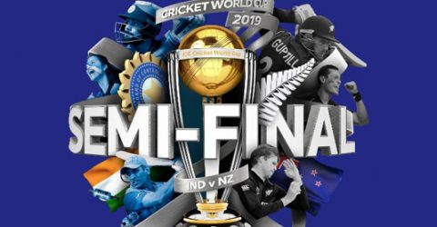 New Zealand bat against India in World Cup semi-final