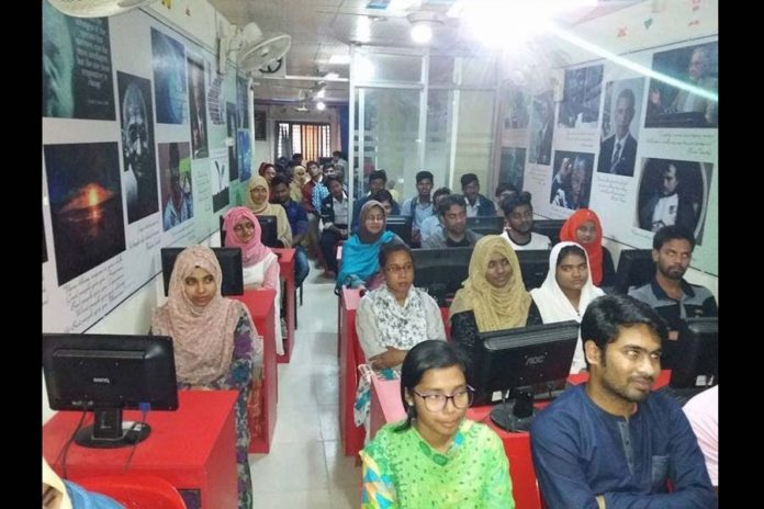 5828 multimedia classrooms installed in Rajshahi division