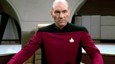 Emotional Patrick Stewart unveils new Star Trek