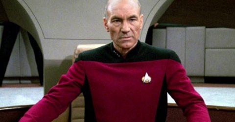 Emotional Patrick Stewart unveils new Star Trek
