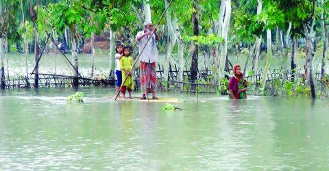Kurigram flood:  1 million people marooned
