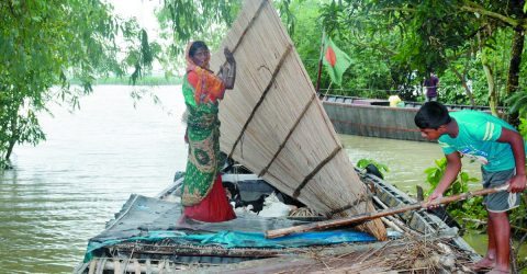 Major rivers cross danger level at 26 more points across country