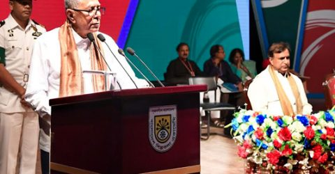 Promote healthy culture to eliminate militancy: President