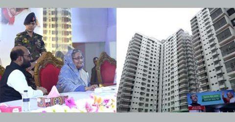 PM opens 7 housing uplift schemes