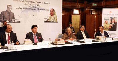 PM asks Bangladesh envoys to pursue economic diplomacy