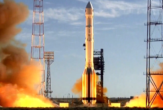 Russia launches space telescope