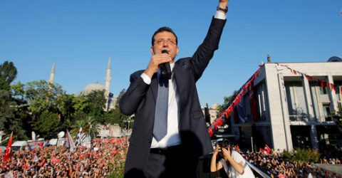 Istanbul's new mayor faces stiff road ahead after landslide win