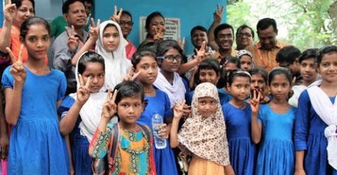 6,500 schoolgirls brought under hygienic toilet facilities in Rajshahi