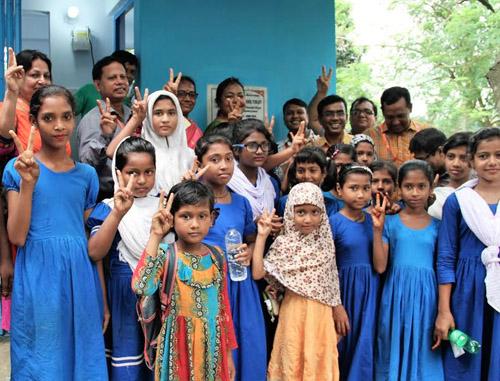 6,500 schoolgirls brought under hygienic toilet facilities in Rajshahi